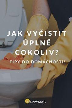 Potřebujete pomoct se skvrnami a další špínou? Víme jak na to. #domacnost #cleaning #cisteni