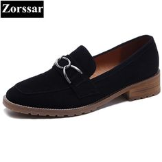48.6$  Buy here - Suede Oxford Shoes Women Flats shoes Designer Brand 2017 Fashion chain Slip-On Summer shoes Womens Flat Leather Shoes   #magazineonlinewebsite