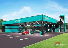 유니박스 GS 칼텍스 주유소 계획설계 [GS Caltex Station]