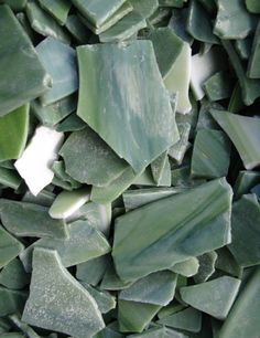 Evergreen Mosaic Glass Cullet