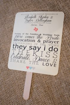 Ceremony Program Ideas Wedding Invitations Photos on WeddingWire