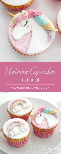 New cake fondant pink cupcake toppers ideas Fondant Cupcakes, Unicorn Cupcakes Cake, Rainbow Cupcakes, Unicorn Cake Topper, Fondant Toppers, Cupcake Cakes, Unicorn Rainbow Cake, Unicorn Cakes, Pink Cupcakes