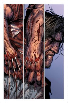 eath of Wolverine page by Steve McNiven, Jay Leisten, and Justin Ponsor Marvel Wolverine, Death Of Wolverine, Hq Marvel, Logan Wolverine, Marvel Comics Art, Bd Comics, Marvel Heroes, Comic Book Characters, Comic Book Heroes