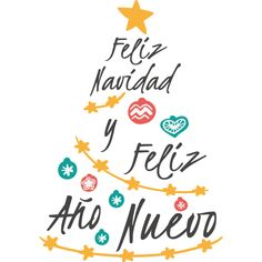 Merry Christmas and Happy New Year - Oscar Wallin Spanish Christmas, Noel Christmas, Merry Christmas And Happy New Year, Christmas Quotes, Christmas Cards, Christmas Decorations, Xmas, Christmas Posters, Christmas Recipes
