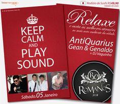 Keep Calm - Romanos Pub