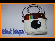Como fazer uma bolsa do Instagram - DIY - Instagram Bag- Muito fácil - YouTube