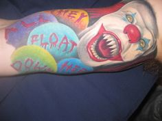 pennywise tattoos