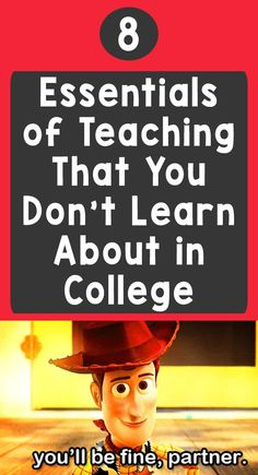 8 Essentials of Teaching That You Don't Learn About in College