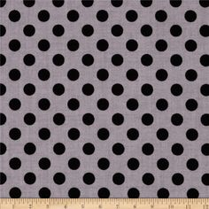 Riley Blake Black on Black Small Dot from @fabricdotcom  Designed for Riley Blake, this cotton print fabric is perfect for quilting, crafts, apparel and home décor accents. Colors include black and grey.