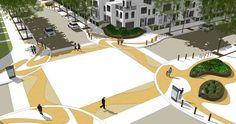 East Village Streetscape by Tanya Goertzen, via Behance