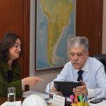 Lucía Corpacci obtuvo un fuerte respaldo de Nación para la realización de obras en Catamarca