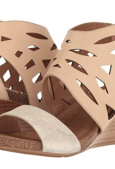 Sofft Mystic (Blush/Ivory M-Vege/Distressed Foil Suede) Women's Sandals - Sofft, Mystic, 1295403-660, Footwear Open Casual Sandal, Casual Sandal, Open Footwear, Footwear, Shoes, Gift, - Fashion Ideas To Inspire