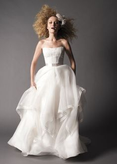 Best Wedding Dresses from Fall 2012 Watters Bridal Collection | OneWed  www.watters.com