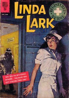 Linda Lark Registered Nurse #3 (1962) (via Comic Book Plus)