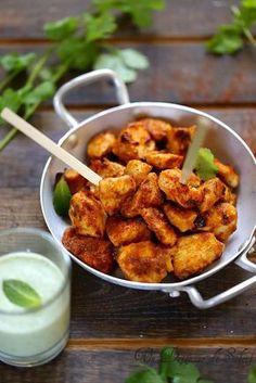 Un dejeuner de soleil: Poulet tandoori