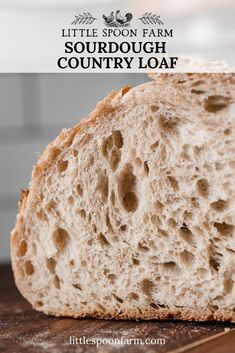 Low Carb Recipes To The Prism Weight Reduction Program This Sourdough Country Loaf Recipe Produces A Slightly Open, Even Crumb With A Mildly Sour Flavor. Delectable As Toast, Dipped In Soup Or Hearty Sandwiches Easy Sourdough Bread Recipe, Sourdough Bread Starter, Yeast Bread, Sourdough Bread Recipe King Arthur, Recipe Breadmaker, Country Bread, Artisan Bread Recipes, Loaf Recipes, Recipes
