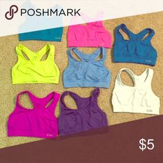 Assortment of C9 sports bras Comment for color! Champion C9 sports bra. No padding. Champion Intimates & Sleepwear Bras