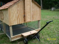 small portable chicken coops | Portable Chicken Co-op Plans