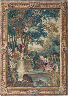 Antique Mythological Tapestry 46567 - By Nazmiyal