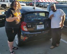 LYNNE AND KENNETH's new 2016 CHEVROLET SPARK! Congratulations and best wishes from Orr Chevrolet and WESTON FROST.