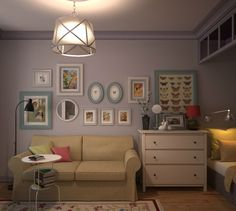 Быстро, недорого, стильно: дизайн однокомнатной квартиры