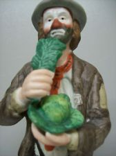 Flambro Emmett Kelly Jr Clown Figurine Sculpture Cabbage Art Deco Circa 1980's $225.00 BO Free Shipping. Accessorizing is very important for Your Personal Style! Island Heat Products http://stores.ebay.com/Island-Heat-Jeans today's clothing Fashions.