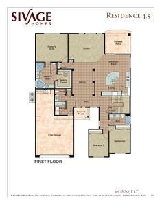 Sivage Homes Floor Plan 4.5