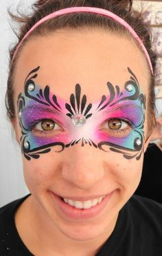 Princess face paint mask - Princesses Face Painting www. - Princess face paint mask – Princesses Face Painting www. Princess Face Painting, Adult Face Painting, Mask Face Paint, Face Paint Makeup, Face Painting Tutorials, Face Painting Designs, Hamsa Tattoo, Orca Tattoo, Pirate Face