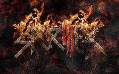 Fire Skrillex HD Wallpaper