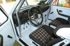 Golf 1 interieur <3