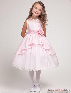 Сделайте своему ребенку отличный подарок. Выкройка милых платьев для девочек не займет у Вас много времени. Инструкции и фото