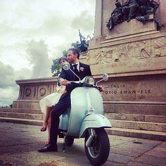 Love, Rome, Vespa!