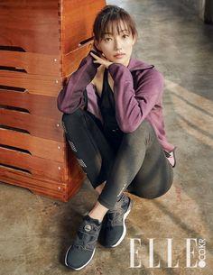 Goblin& Lee El slays in Elle Korea& latest fitness shoot Korean Actresses, Korean Actors, Inside Man, Web Drama, Goblin, Beautiful People, Hipster, Photoshoot, Fitness