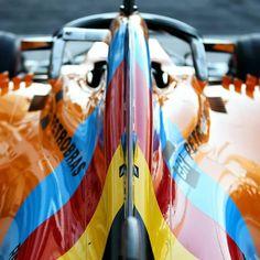 "@grandprix_moments su Instagram: ""FORMULA 1 2018 ETIHAD AIRWAYS ABU DHABI GRAND PRIX YAS MARINA CIRCUIT #14 Fernando Alonso McLaren MCL33 livery for his possible final F1…"" Mclaren Formula 1, Formula 1 Car, Fernando Alonso Mclaren, Abu Dhabi Grand Prix, Fantastic Art, Motogp, Circuit, Motorcycles, Racing"