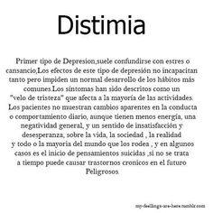 Definición de Distimia