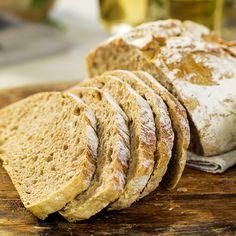 Eltefritt brød med hvete og rug
