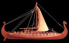 Viking Ship - Scale Wooden Model Ship Kit by Amati Models