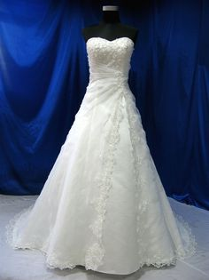Wedding Dress Fantasy - Vintage Inspired Wedding Dress - Available in Every Color 35, $699.00 (http://www.weddingdressfantasy.com/vintage-inspired-wedding-dress-available-in-every-color-35/)