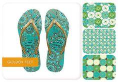 On Trend: Golden Feet - Kathy Davis Studios