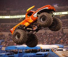Win a Family Four-Pack of Tickets to Monster Jam® | Macaroni Kid #contest