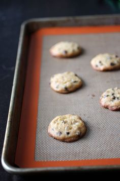 Ginger Chocolate Chip Cookies -- these use soy milk lees (okara) left over from making soy milk for tofu. Love that Burnt Lumpia used the soybean all the way to the end!
