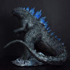 Godzilla Conceptual Sculpt by FritoFrito on DeviantArt Godzilla Suit, Godzilla Costume, King Kong, Sculpting, Deviantart, Sandro, Animals, Rock, Movies