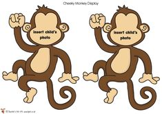 Teacher's Pet - Large Printable Photo Monkeys - FREE Classroom Display Resource - EYFS, KS1, KS2, Monkeys, jungle, African, animals, zoo, safari, birthday, display, fruits