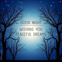 Good night..........
