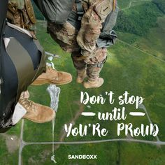 Don't stop until you're proud #usa #military #militarymotivation #militaryinspiration #militaryquotes #marines #airforce #coastguard #navy #army #sailors #airmen #soldiers #usmilitary #sandboxx #motivationalquotes #inspirationalquotes