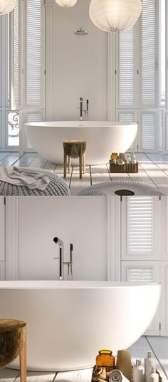 Stunning bathroom. This is what I call a luxury bathroom. Stone resin bath. The spectacular Maradan bath was designed by Italian lead designer Fabrizo Costingo for Lusso Stone.