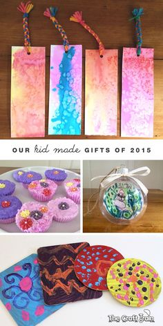 Our kid-made gifts of 2015