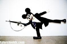Mickey Has A Gun