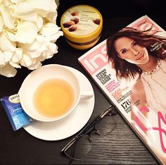 A lovely night with Goodnight Blend #Tea & catching up on past issues - #magazine issues.