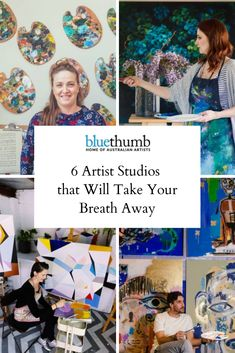 Artists' work spaces inevitably reflect their hard work and passion. Join us as we reflect on six of our favourite artist studios. Art Studio Decor, Studio Ideas, Artist Workspace, Eyes On The Prize, Artist Studios, Art Story, Work Ethic, Work Spaces, Australian Artists